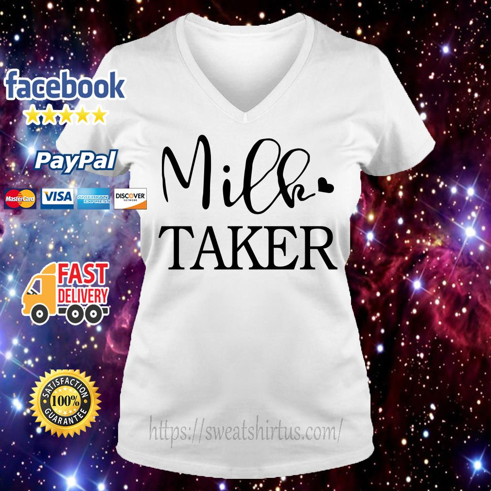 Official Milk taker V-neck T-shirt