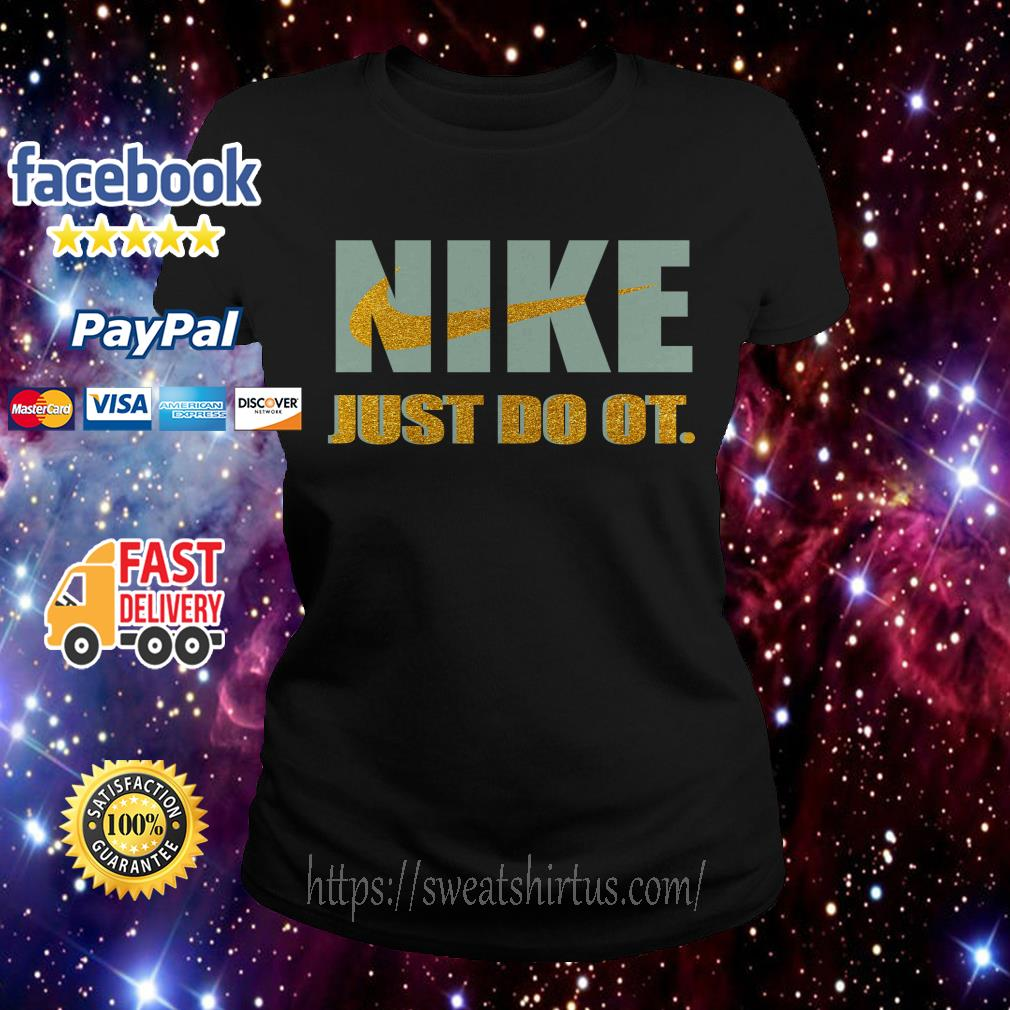 Official Nike just do it purl Ladies Tee