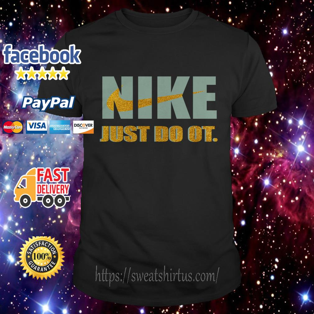 Official Nike just do it purl shirt