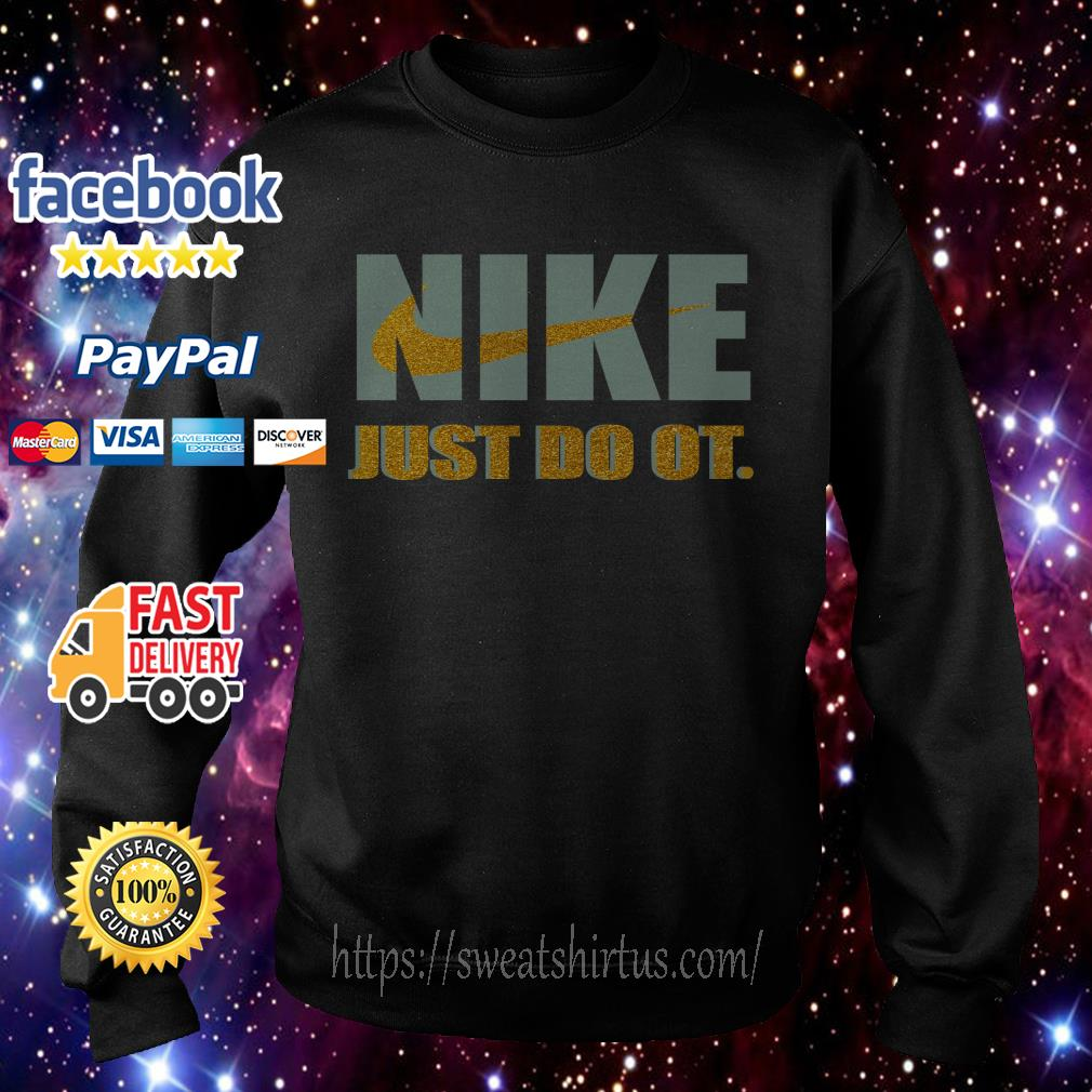 Official Nike just do it purl Sweater