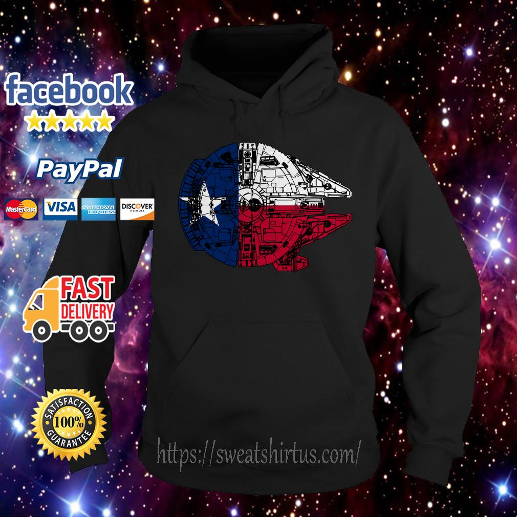 Texas Flag and the Millennium Falcon Hoodie