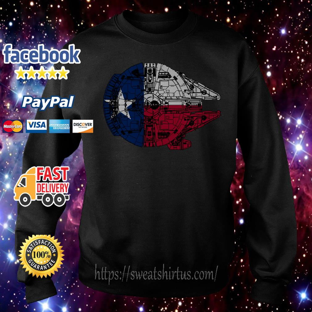 Texas Flag and the Millennium Falcon Sweater