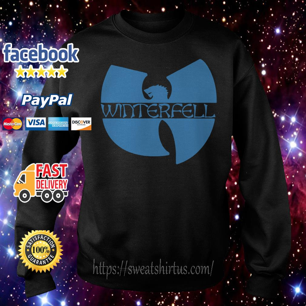 Wu Tang clan Game of Thrones Winterfell Sweater