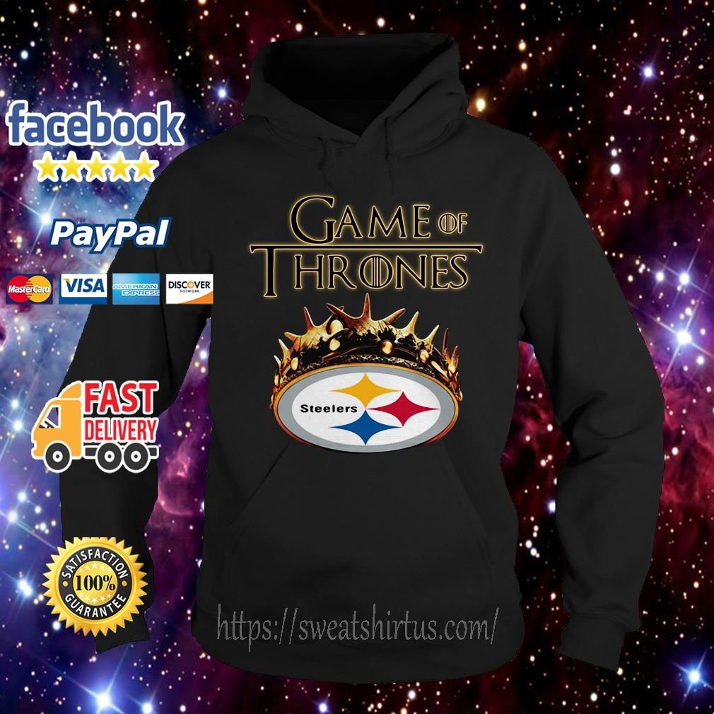 ab767a575 Crown Game of Thrones Pittsburgh Steelers shirt