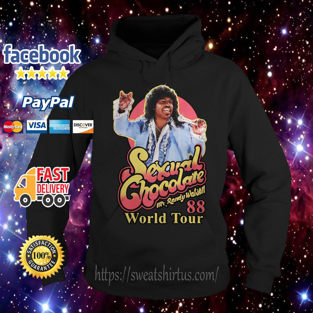 Sexual Chocolate Mr Randy Watson World Tour 88 Hoodie