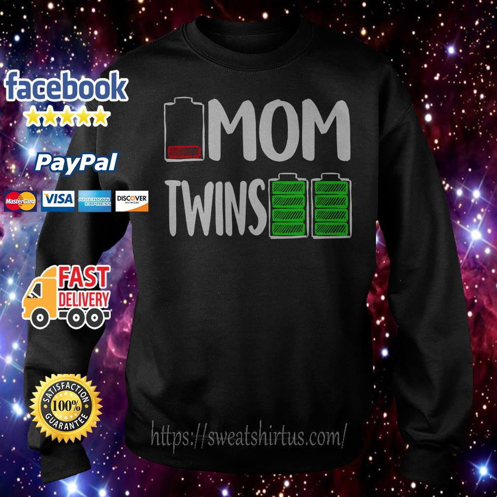 Battery mom twins Sweater