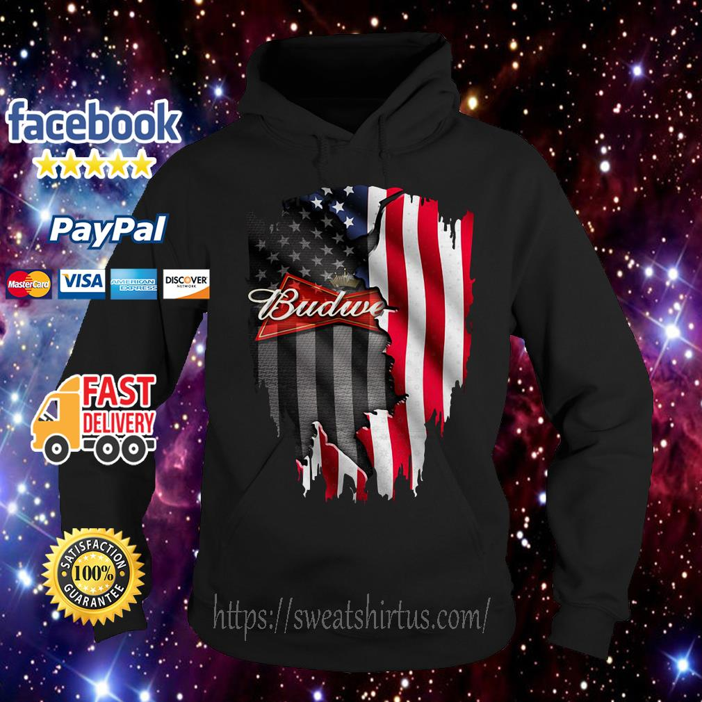 Budweiser beer American flag Independence Day 4th Of July Hoodie