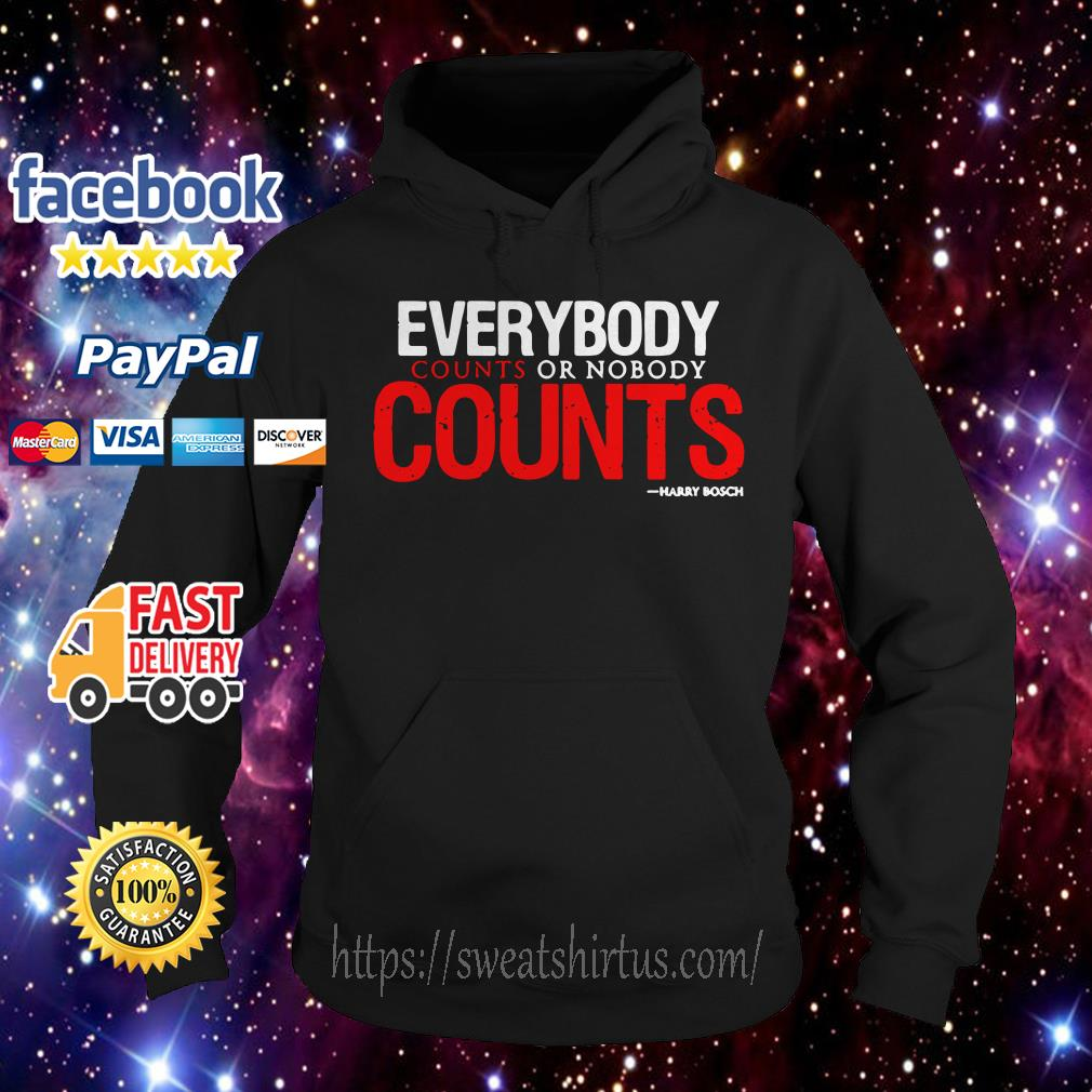 Everybody counts or nobody counts Hoodie
