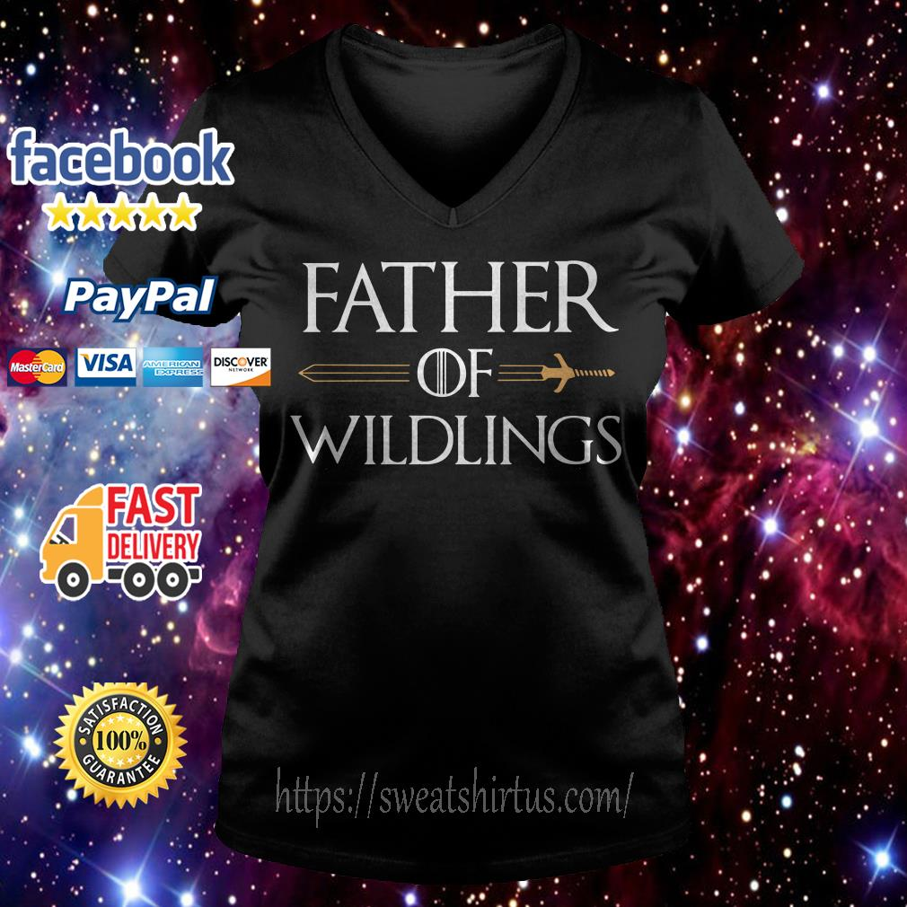 Game of Thrones father of Wildlings V-neck T-shirt
