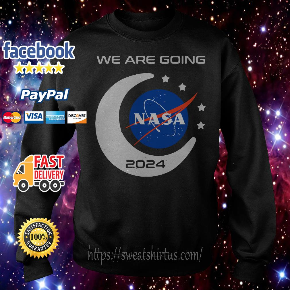 We are going Nasa 2024 Sweater
