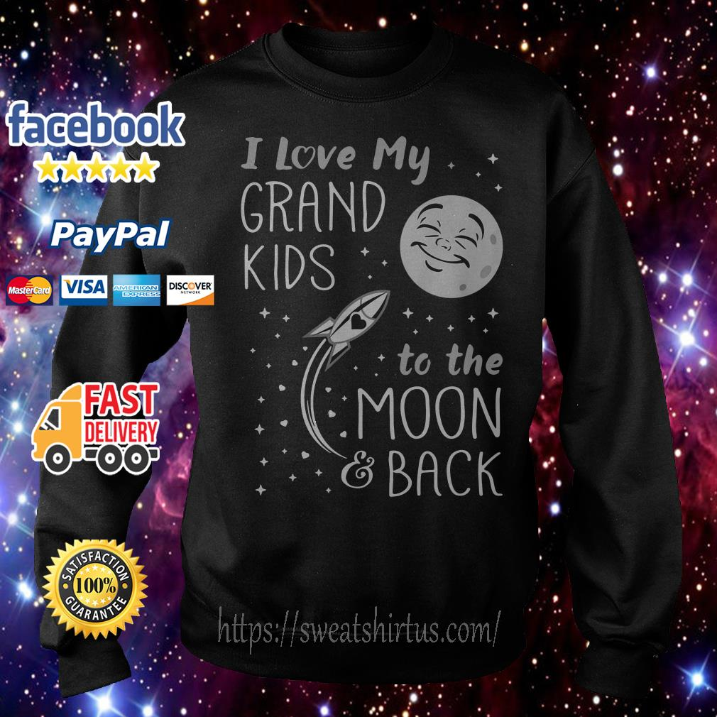 I love my grandkids to the moon and back Sweater
