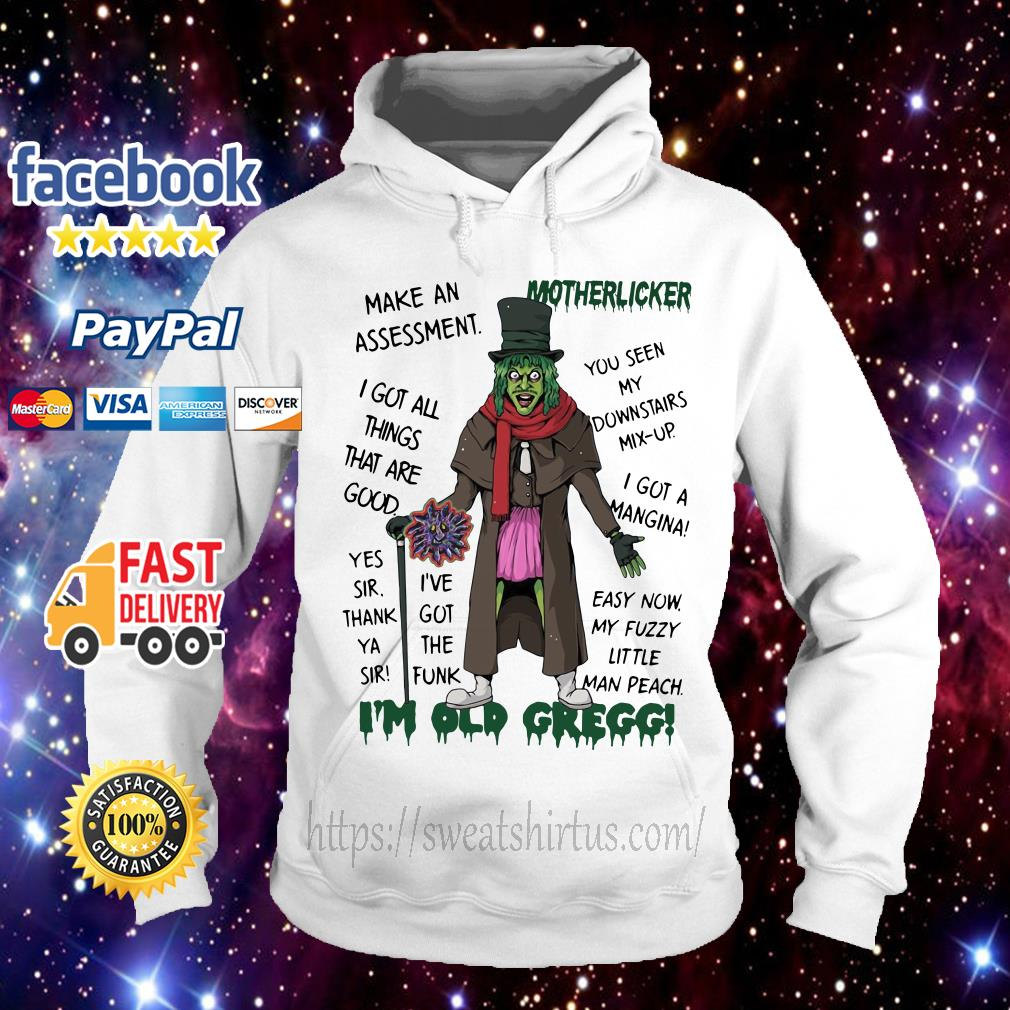 Make an assessment Motherlicker I got all things that are good Hoodie