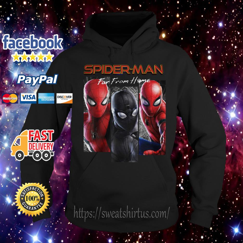 Marvel Spider-Man Far From Home Suit Panel Hoodie