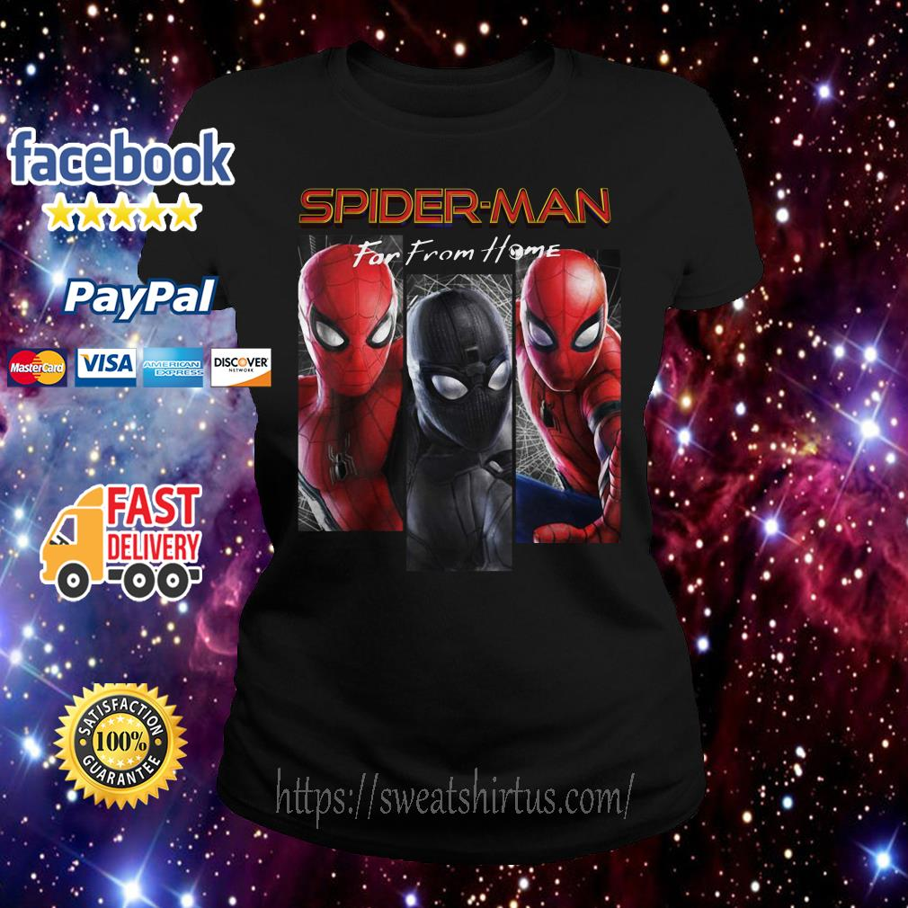 Marvel Spider-Man Far From Home Suit Panel Ladies Tee