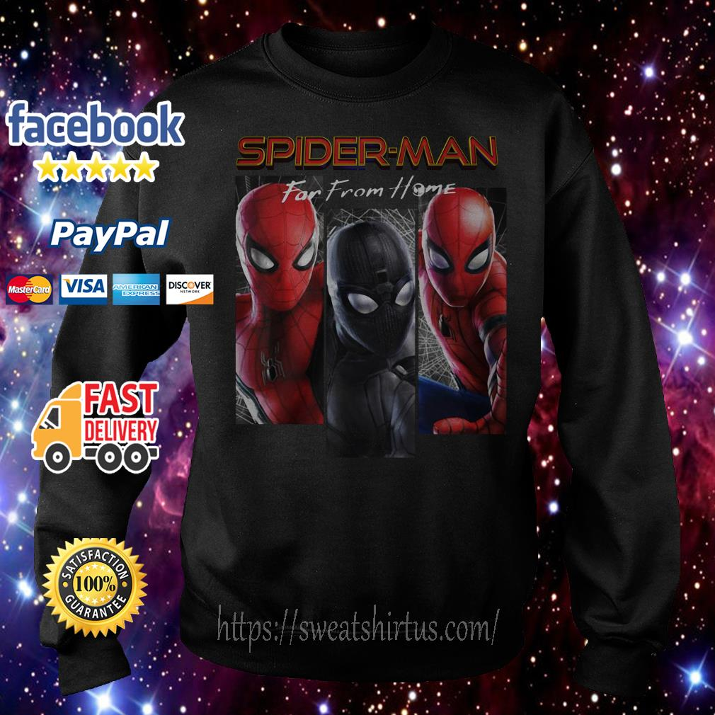 Marvel Spider-Man Far From Home Suit Panel Sweater