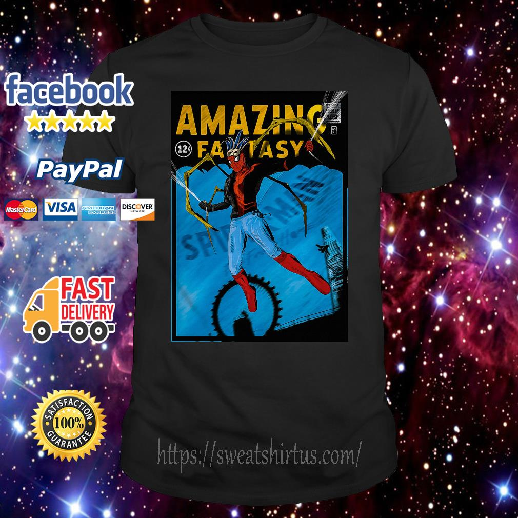 Amazing Fantasy Spider-man shirt