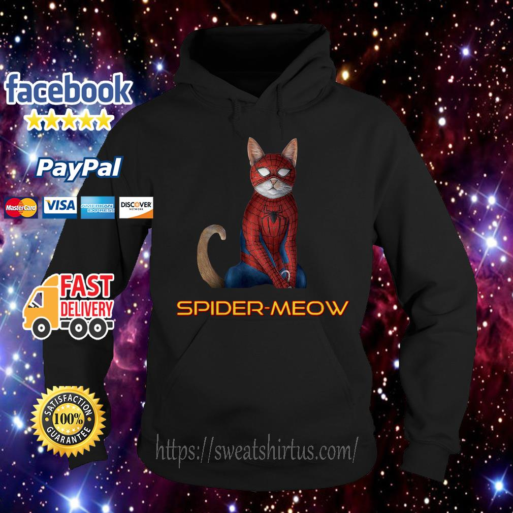 Avengers Spider man Spider-meow Hoodie