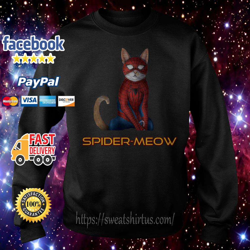 Avengers Spider man Spider-meow Sweater