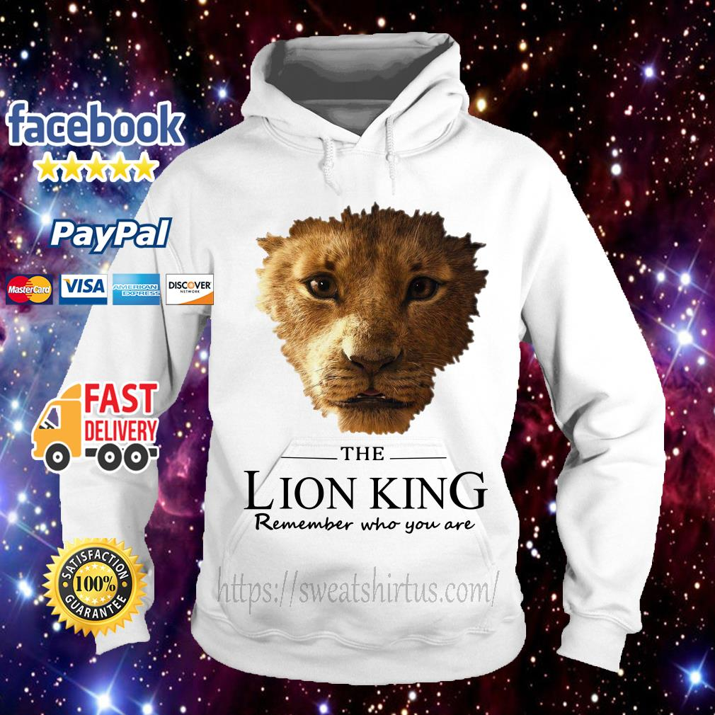 The Lion King Simba remember who you are Hoodie
