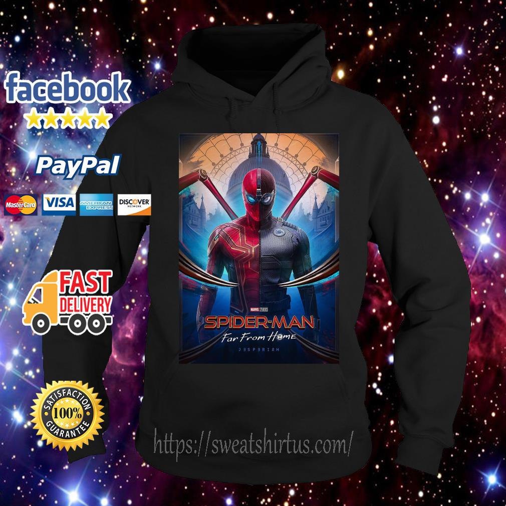 Marvel Spider-man Far From Home movie poster Hoodie