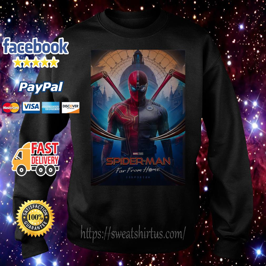 Marvel Spider-man Far From Home movie poster Sweater