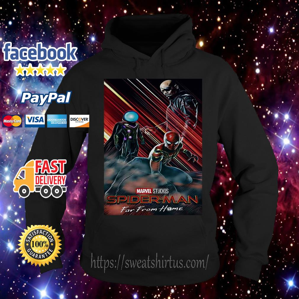 Marvel studios Spider-man Far From Home poster Hoodie