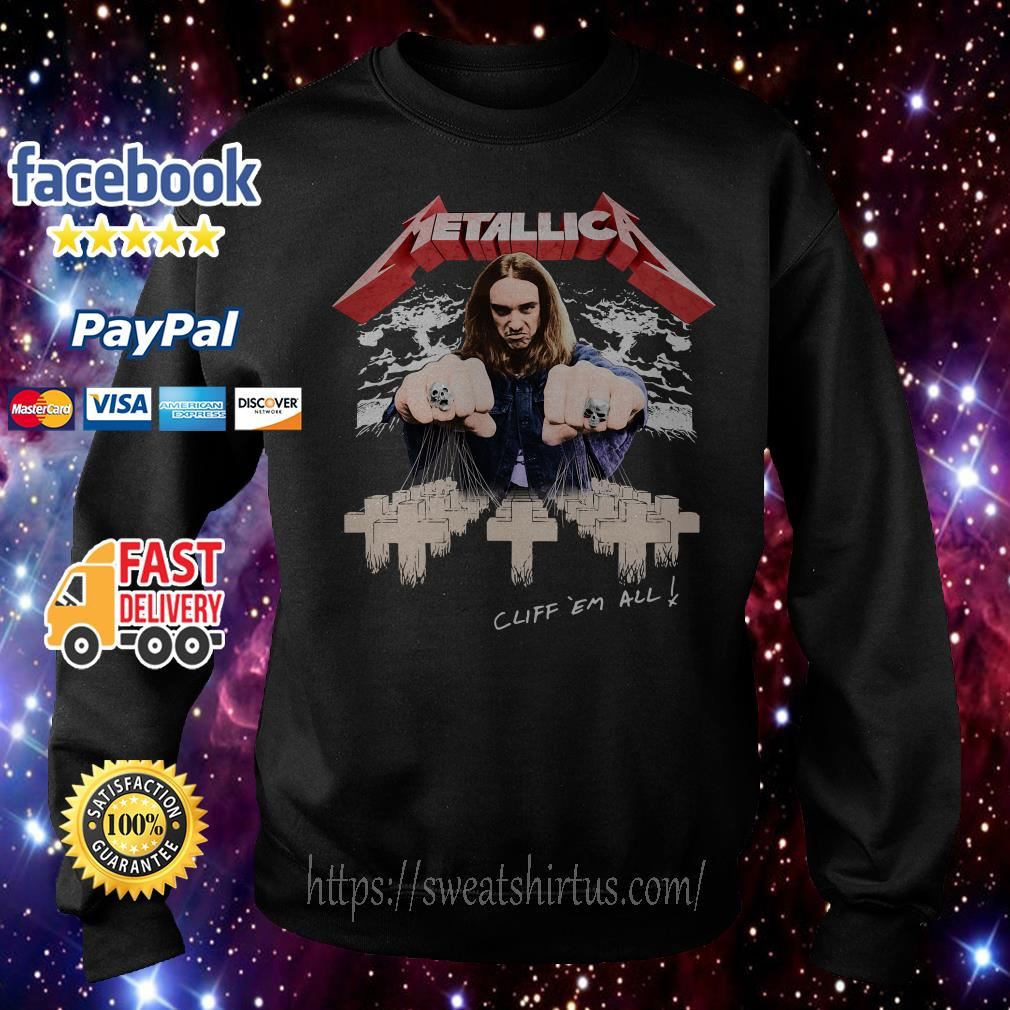 Metallica Cliff ´em all Sweater