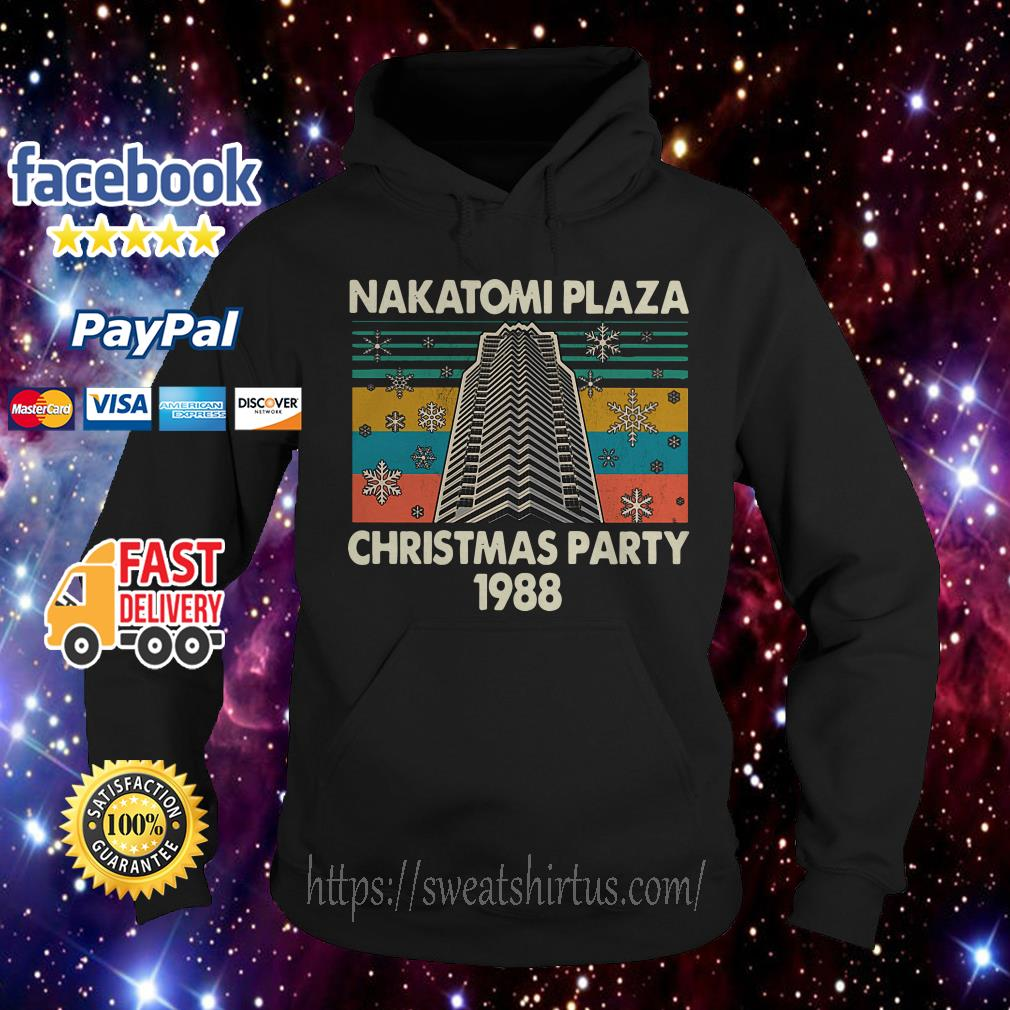 Nakatomi plaza Christmas party 1988 vintage Hoodie