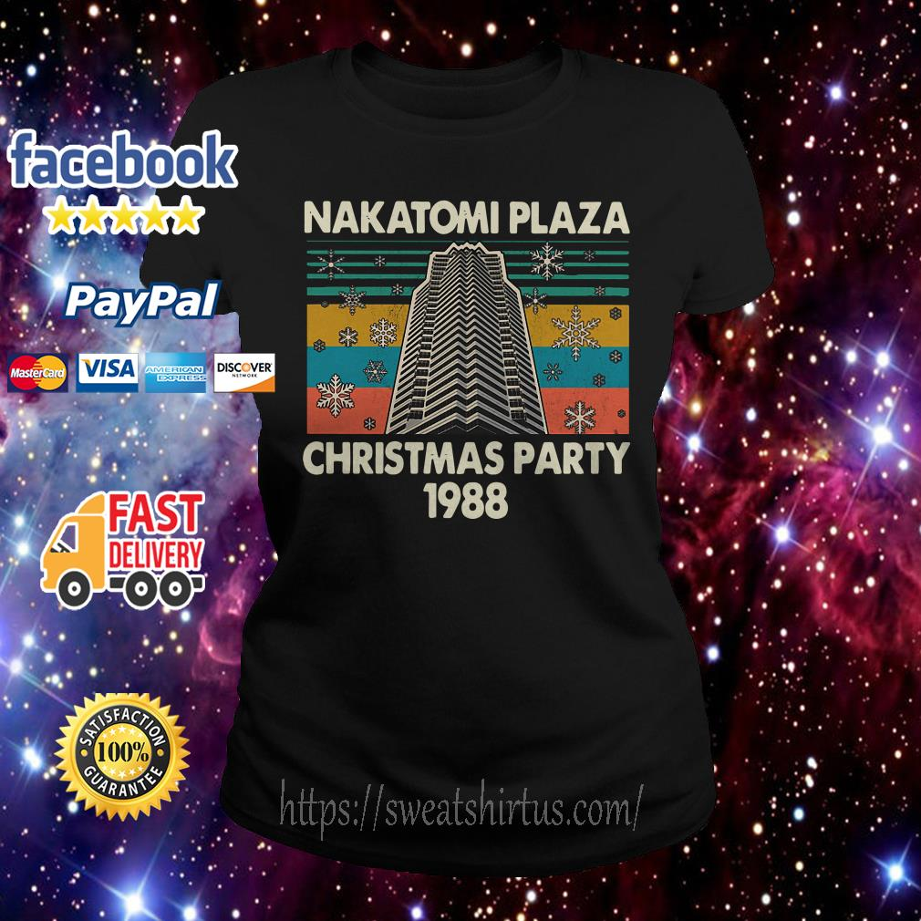 Nakatomi plaza Christmas party 1988 vintage Ladies Tee