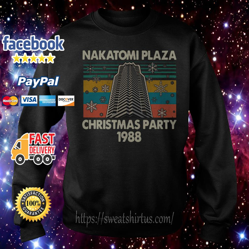 Nakatomi plaza Christmas party 1988 vintage Sweater