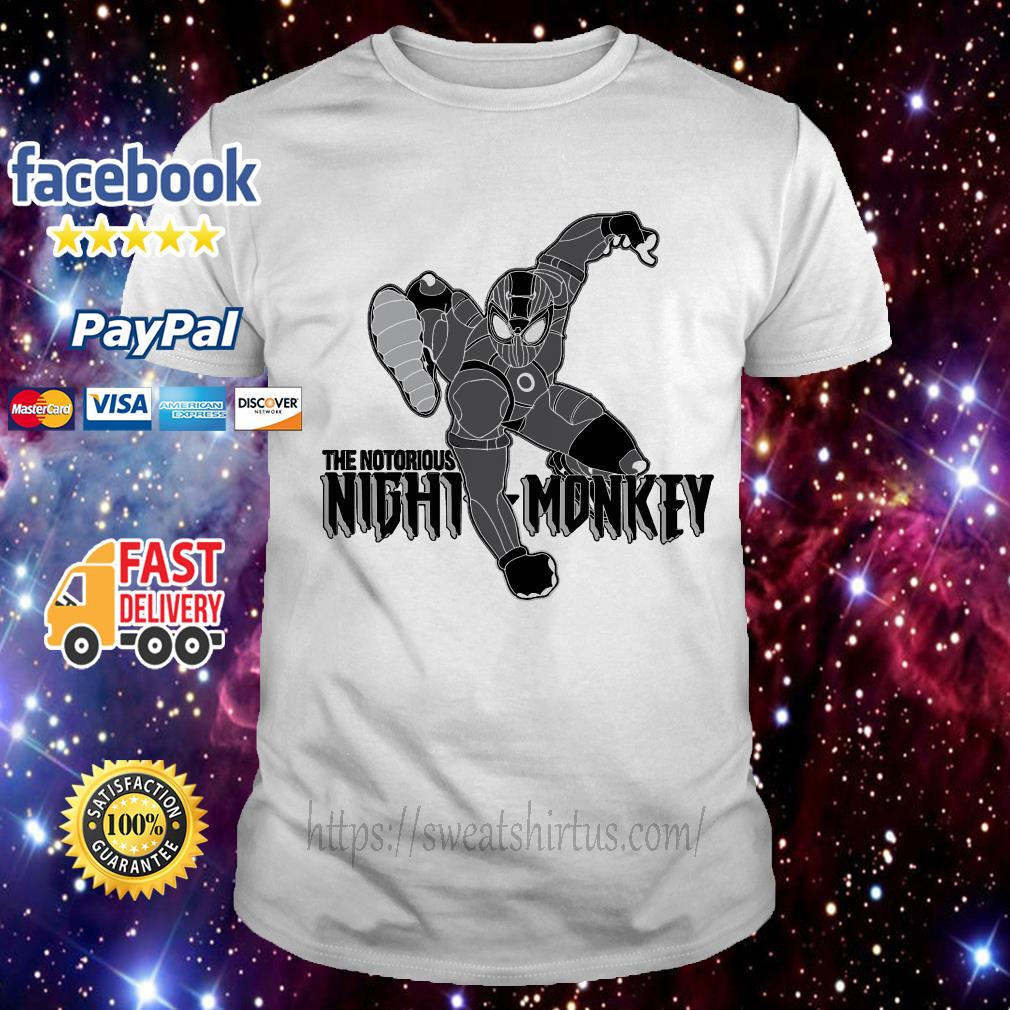 The notorious Night Monkey shirt