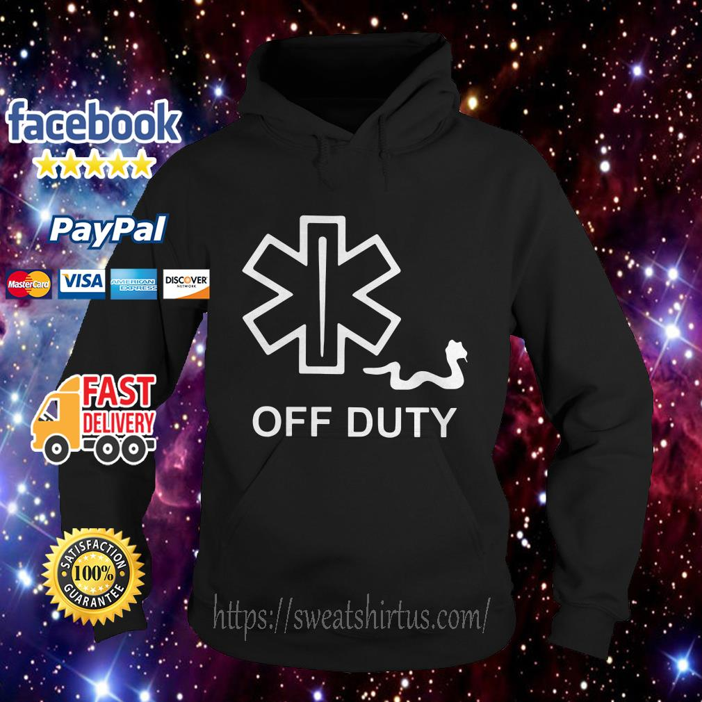 Official off duty Hoodie