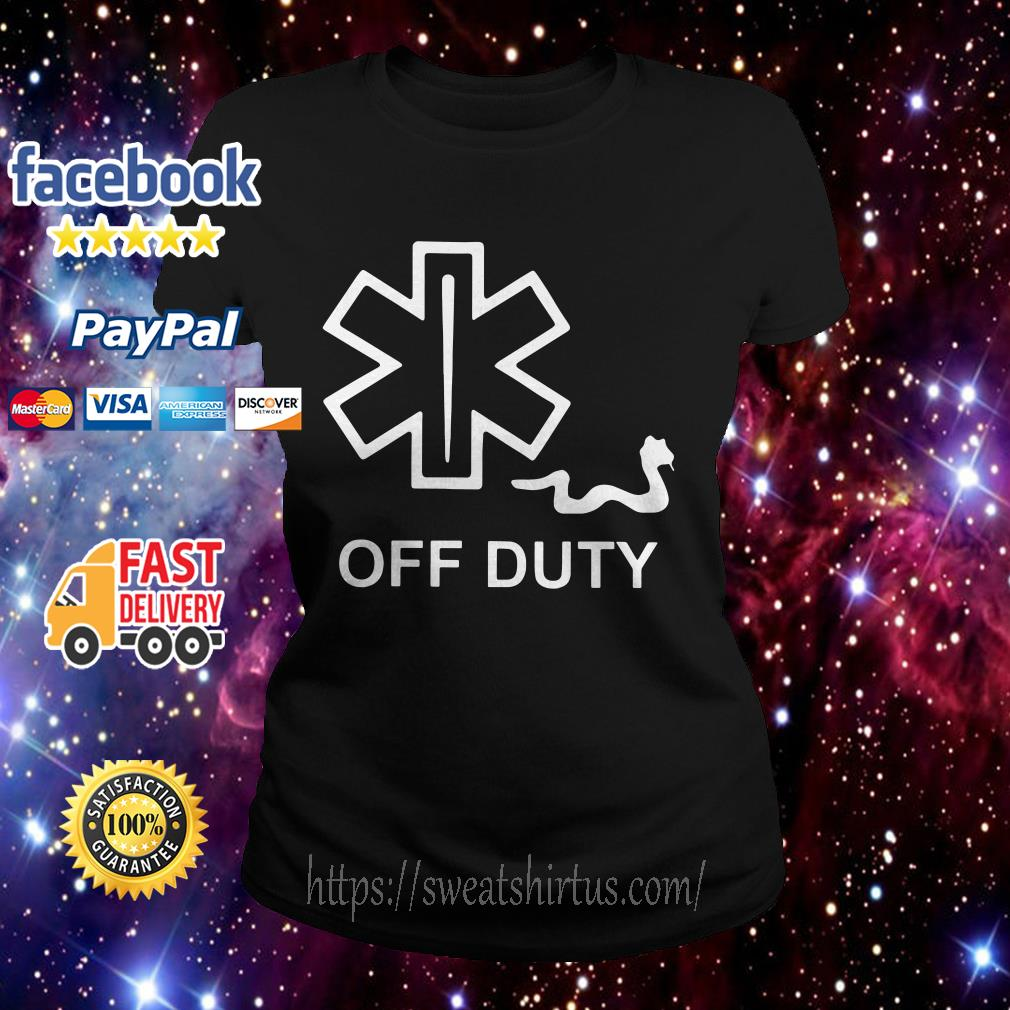 Official off duty Ladies Tee