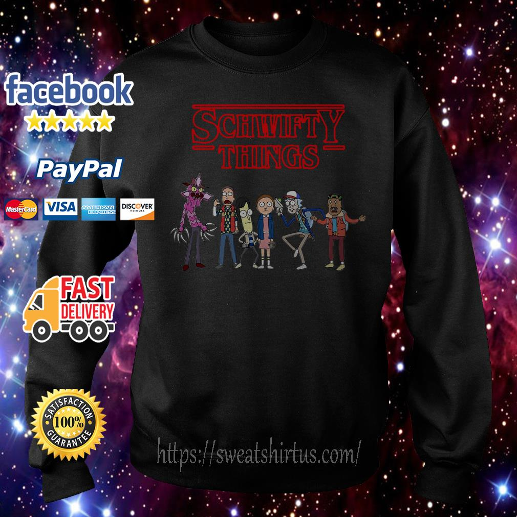Rick and Morty Stranger Things Schwifty Things Sweater