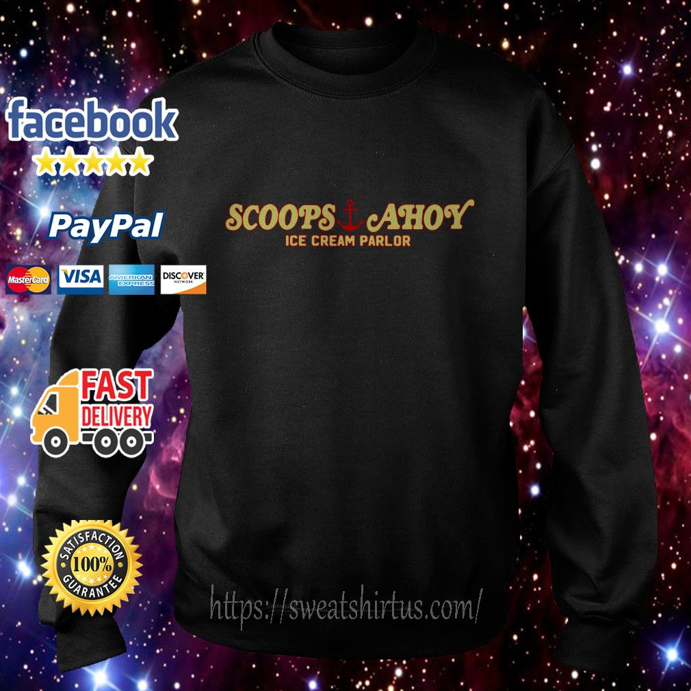 Scoops Ahoy ice cream parlor Sweater