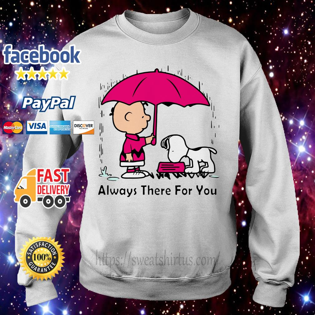 Snoopy and Charlie Brown always there for you Sweater
