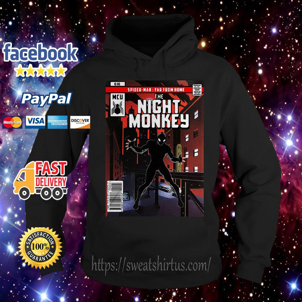 Spider-man Far From Home The Night Monkey Hoodie
