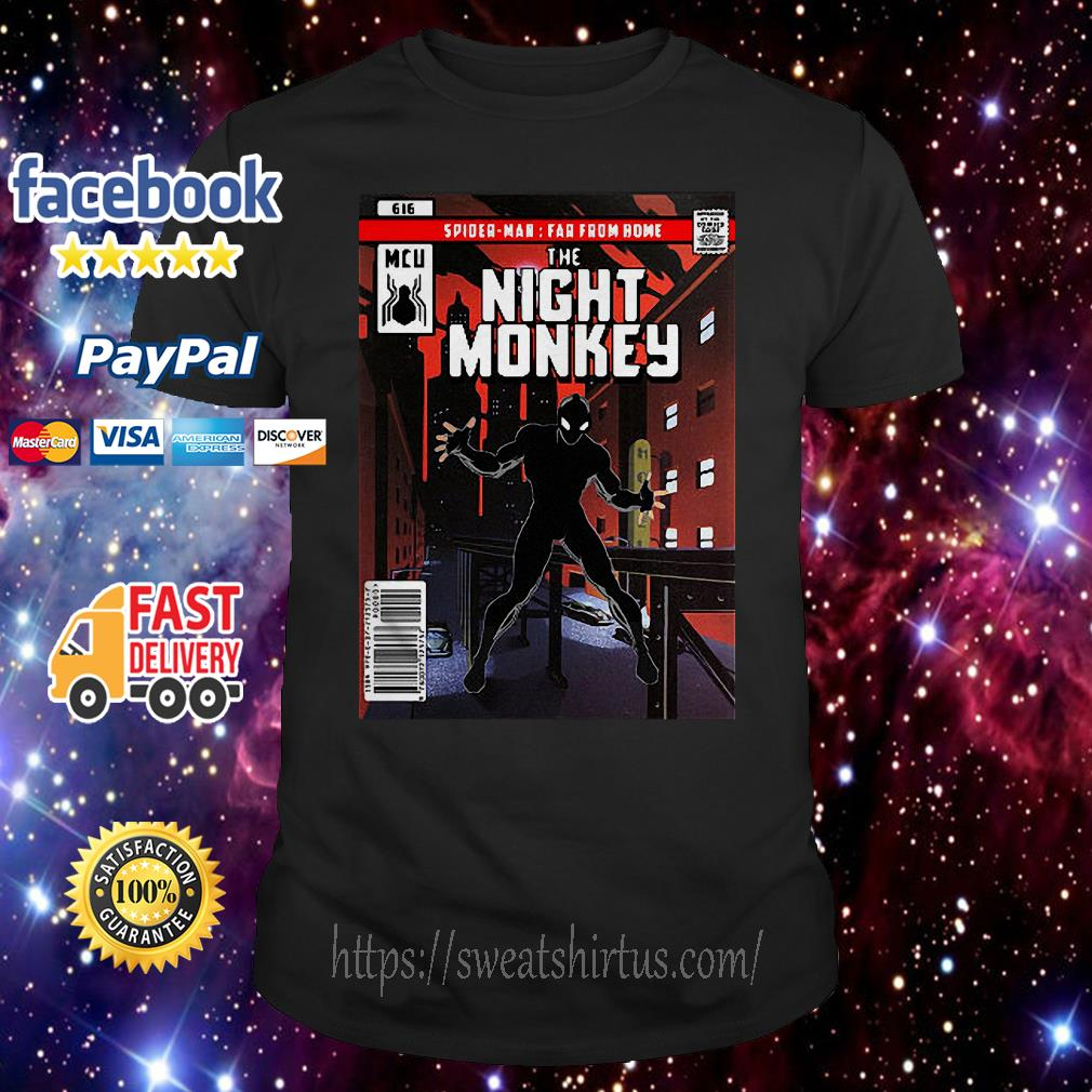 Spider-man Far From Home The Night Monkey shirt