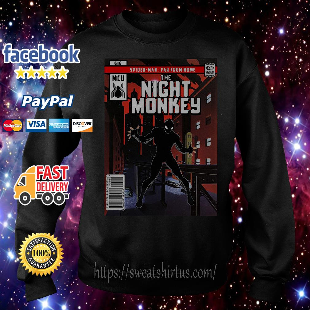 Spider-man Far From Home The Night Monkey Sweater