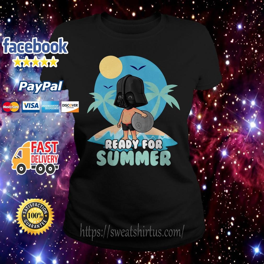 Star Wars Darth Vader ready for summer Ladies Tee
