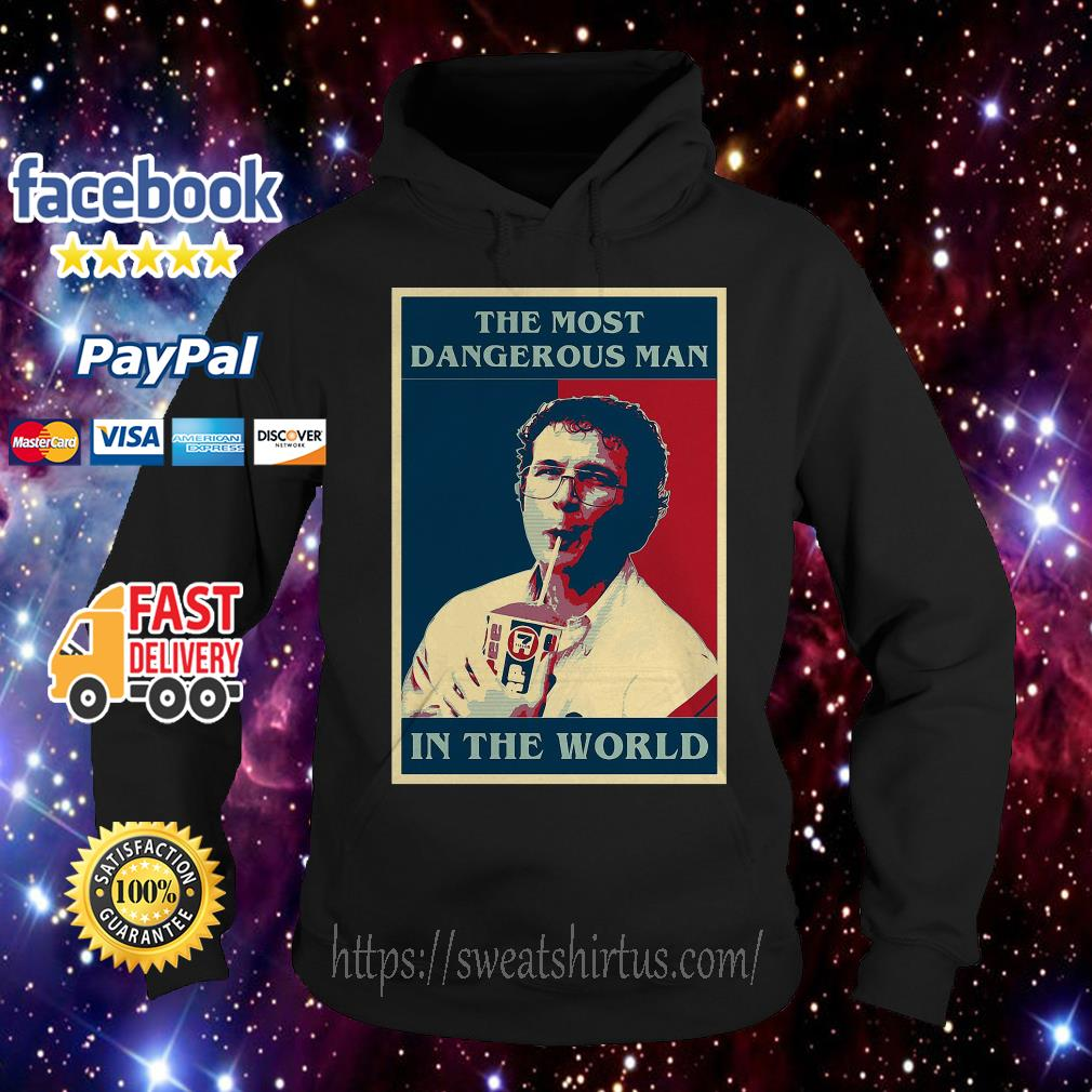 Stranger Things the most dangerous man in the world Hoodie