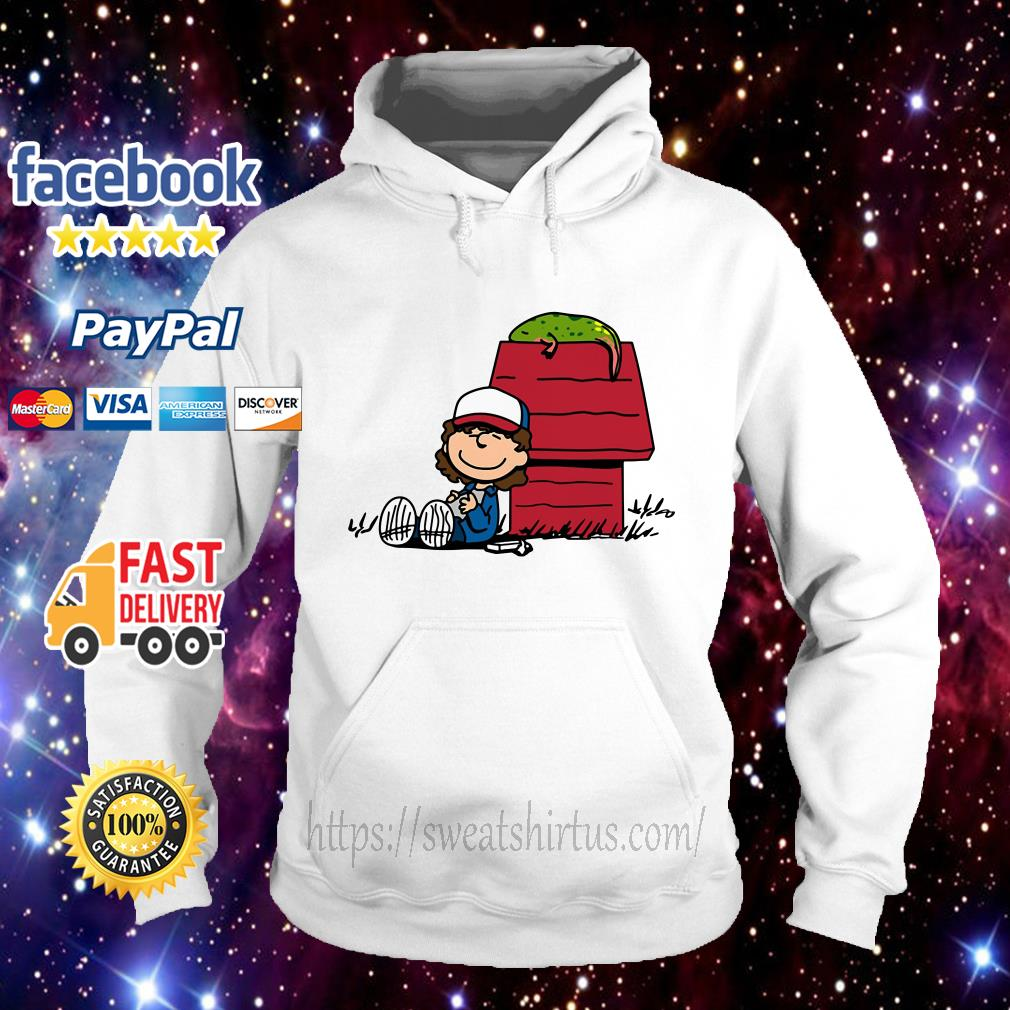 Stranger Things Dustin and Dart Peanuts mix Hoodie