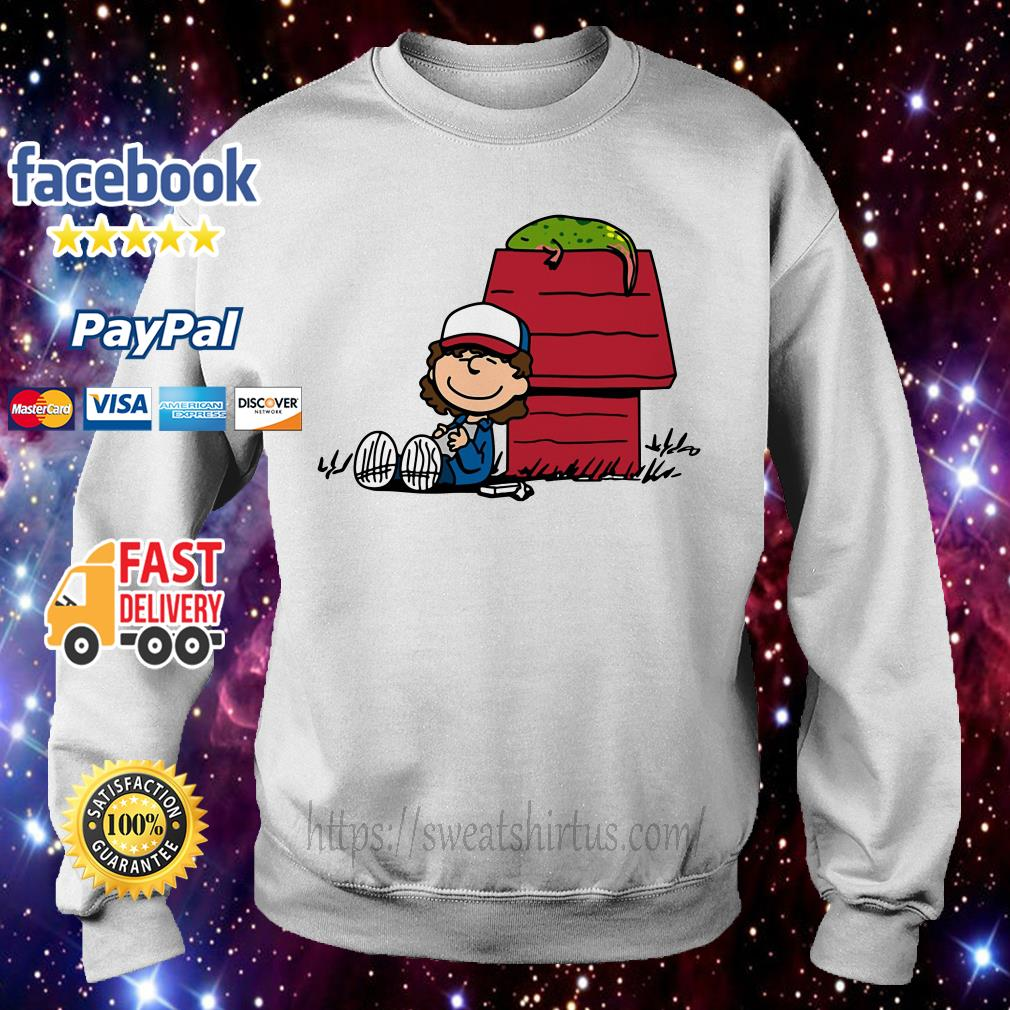 Stranger Things Dustin and Dart Peanuts mix Sweater