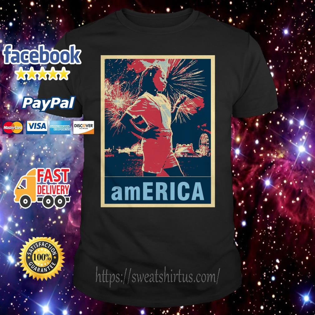Stranger Things Erica America poster shirt