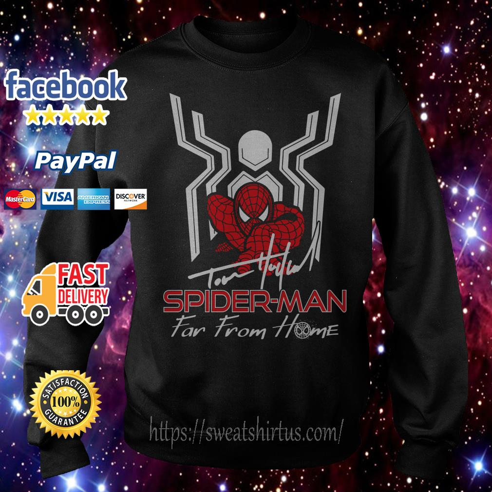 Tom Holland Spider-man far from home signature Sweater