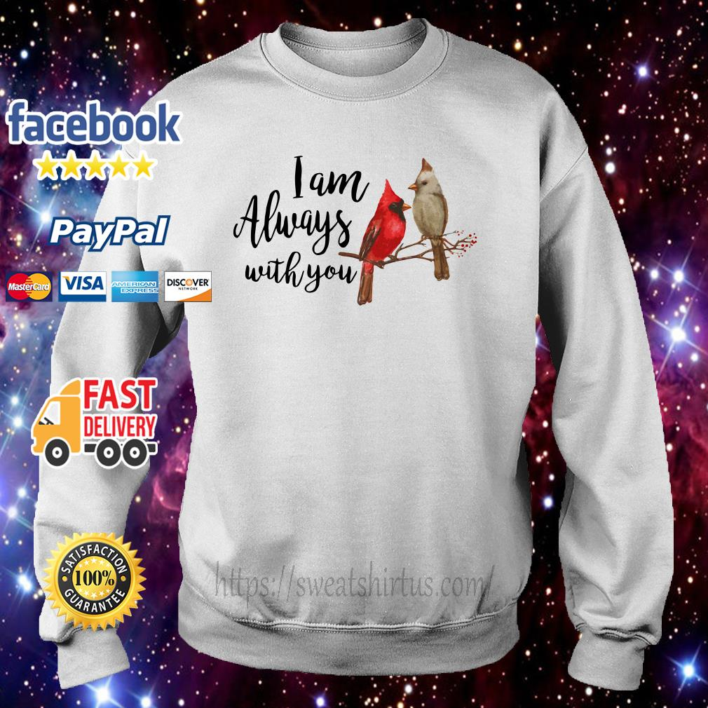 Birds I am always with you sweater