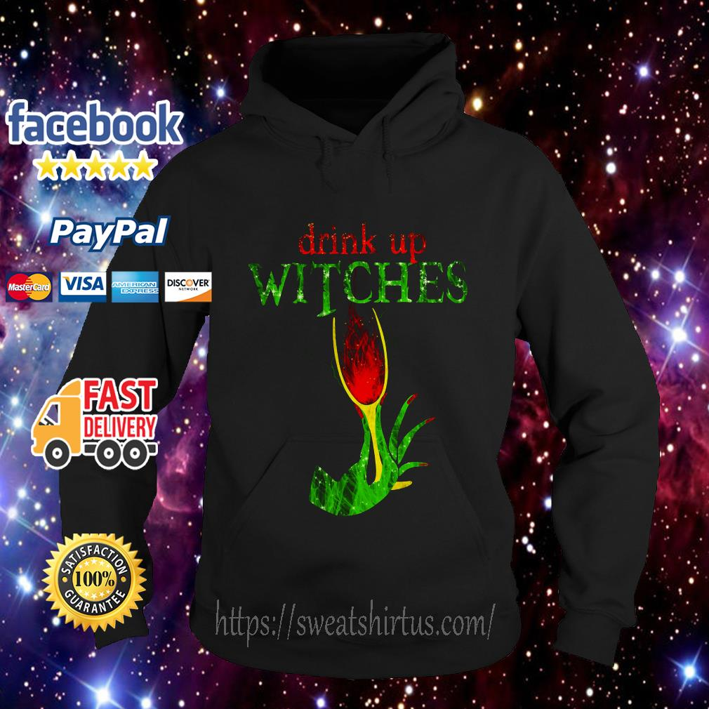 Drink Up Witches Halloween hoodie