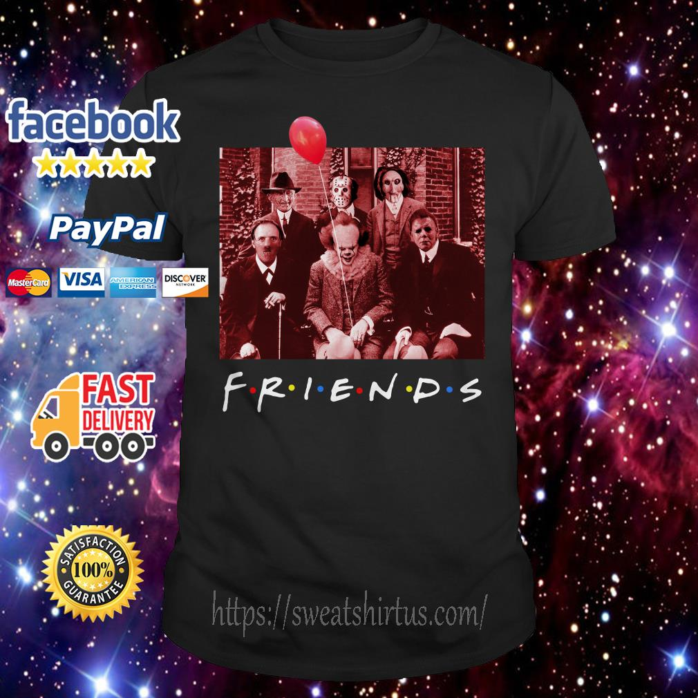 Friend TV show Horror character shirt