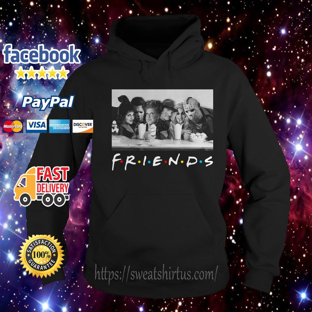 Friends Mary Sanderson Michael Myers and Winifred Sanderson horror movies Hoodie