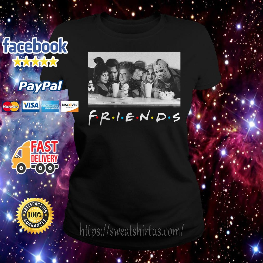 Friends Mary Sanderson Michael Myers and Winifred Sanderson horror movies Ladies Tee